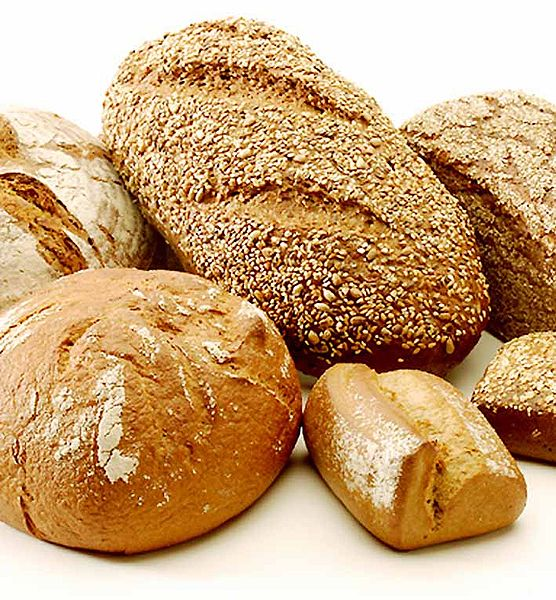 Various Yeast Raised Breads. Courtesy of Wikipedia.