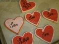 Valentine's Day Cookie Production.